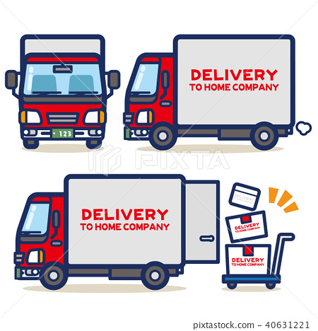 red, parcel delivery, post man 40631221