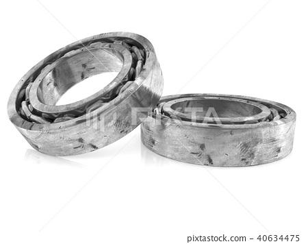 Two bearings on white 40634475