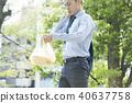นักธุรกิจ,ธุรกิจ,ภาพวาดมือ ธุรกิจ 40637758