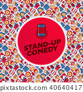applause, comedian, comedy 40640417