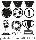 trophy award vector 40641114