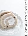 롤케익, 롤케이크, 케이크 40641164