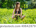 woman,young,yoga 40642879