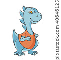 dinosaur, cartoon, character 40646125