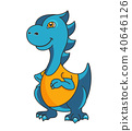 dinosaur, cartoon, character 40646126