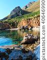 Sea bay in Zingaro Park, Sicily, Italy 40646990