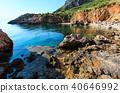 Sea bay in Zingaro Park, Sicily, Italy 40646992