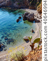 Sea bay in Zingaro Park, Sicily, Italy 40646994