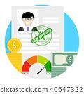financial, loan, banking 40647322