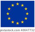 EU 유럽 연합 아이콘 깃발 40647732