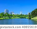도쿄 사쿠라다 해자의 풍경 (사쿠라다 전보다 국회 의사당 방면) 40655619