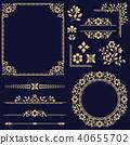element, floral, design 40655702