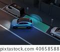 SUV平行停車與夜間自動停車駕駛支持系統。 40658588
