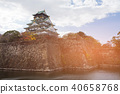Osaka castle Japanese world heritage  40658768