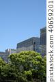 도쿄 치요다 구 황궁 주변의 건물 2018 년 5 월 40659201