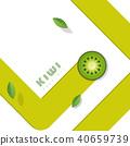 fruit green kiwi 40659739