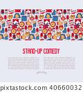 applause, audience, comic 40660032