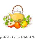 apple leaf flower 40660476
