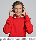 boy, headphones, handsome 40661049