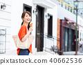 젊은 여성 (휴일) 40662536