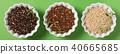 Quinoa in white bowls 40665685