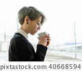 woman, cup, drink 40668594