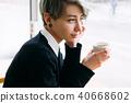 woman, cup, coffee 40668602