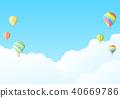 sky, cloud, clouds 40669786