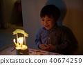 孩子的3岁生日/吹灭生日蛋糕蜡烛 40674259