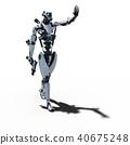 인간형 로봇 perming3DCG 일러스트 소재 40675248