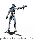 인간형 로봇 perming3DCG 일러스트 소재 40675253