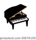 vector, vectors, piano 40676109