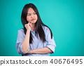 female asian long-haired 40676495