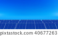 Solar power energy background 40677263