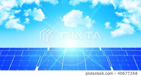 太阳能能源背景 40677268