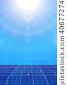 太阳能能源背景 40677274