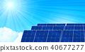 太阳能能源背景 40677277