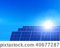 太阳能能源背景 40677287