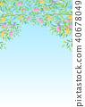 Tanabata竹子夏天背景 40678049