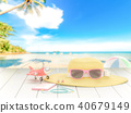 Summer background concept. 40679149