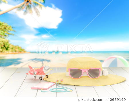 Summer background concept. 40679149
