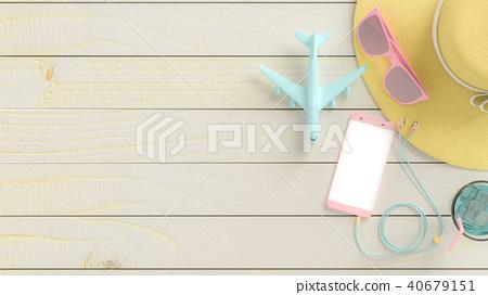 Summer background concept. 40679151