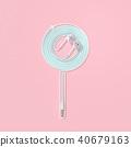 耳机 棒棒糖 彩色粉笔 40679163