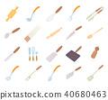 kitchen, tools, icon 40680463