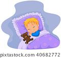 bear, boy, child 40682772