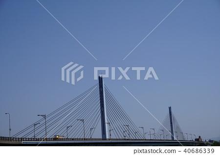 Osaka Sasakawa Bridge Sugawara Castle Kita Ohashi 40686339
