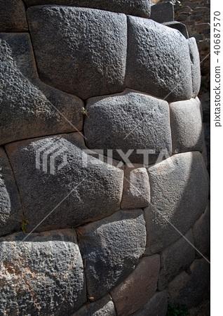 올란 타이 탐보 유적 거석의 벽 40687570