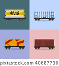 cargo container freight 40687730