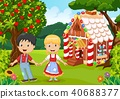 Classic children story. Hansel and Gretel 40688377