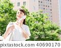 ธุรกิจหญิง (ฤดูร้อน) 40690170